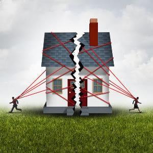 חלוקת רכוש של דירה משותפת